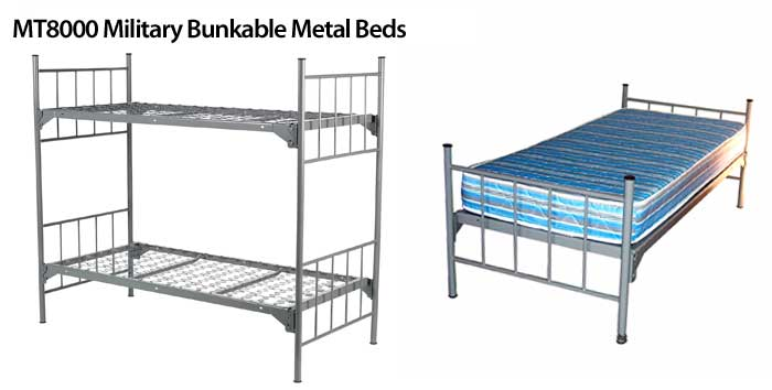 Military-Bunkable-Metal-Beds