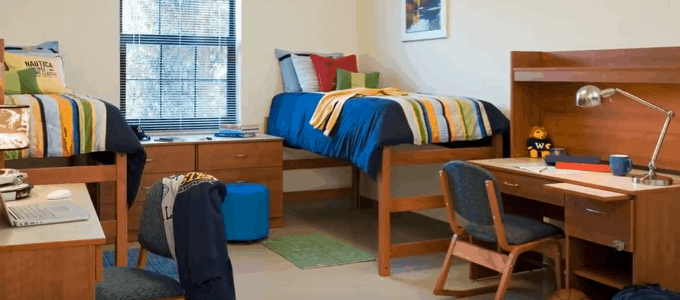 Intensive Use Residential And Dormitory Furniture